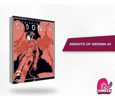 Knights of Sidonia número 2