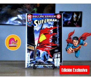 The Death Of Superman Autografiado