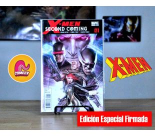 Xmen Second Coming número 1 Autografiado
