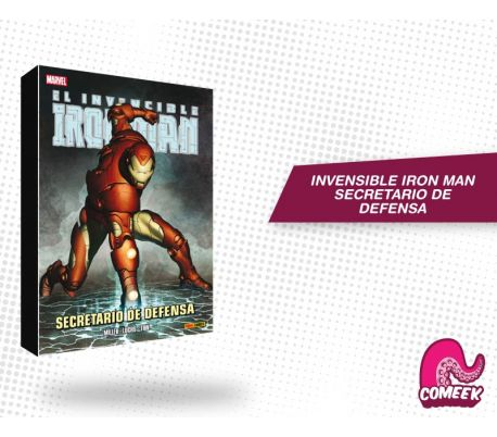 Iron Man Secretario de Defensa