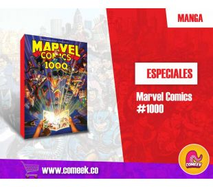 Marvel Comics 1000 inglés