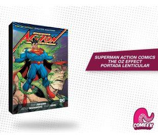 Superman Action Comics The Oz Effect Portada Lenticular