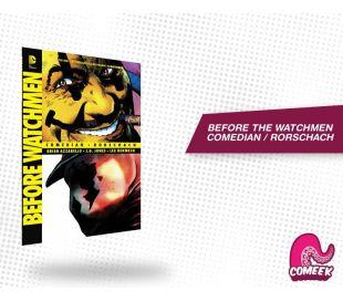 Watchmen Before Comedian Rorschach