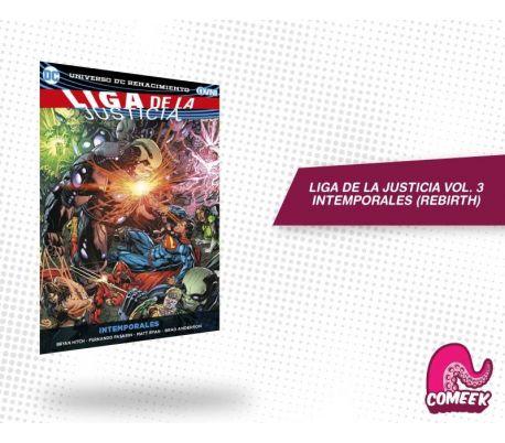 Liga de Justicia Vol. 03 Intemporales
