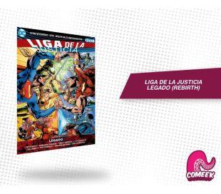Liga de la Justicia Vol 4 Legado