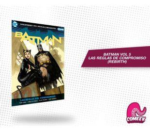 Batman Vol. 5 Las reglas del compromiso