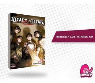 Ataque a los titanes número 21