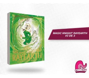Magic Knight Rayearth (guerreras mágicas) número 3 de 3