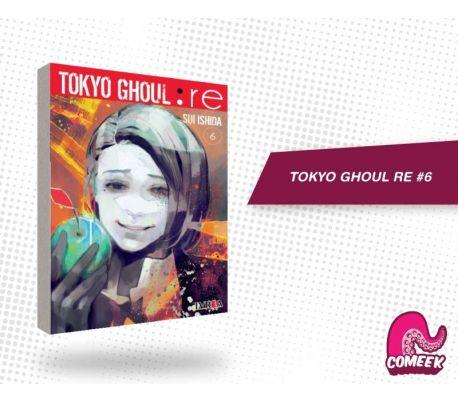 Tokyo Ghoul Re número 6