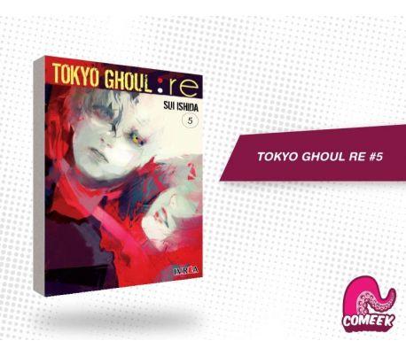 Tokyo Ghoul Re número 5