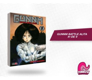 Gunnm Battle Angel Alita número 1 de 9
