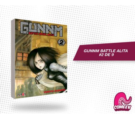 Gunnm Battle Angel Alita número 2 de 9
