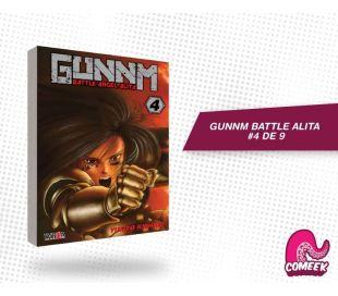 Gunnm Battle Angel Alita número 4 de 9