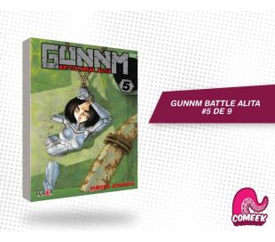 Gunnm Battle Angel Alita número 5 de 9