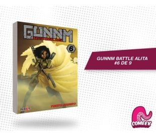 Gunnm Battle Angel Alita número 6 de 9