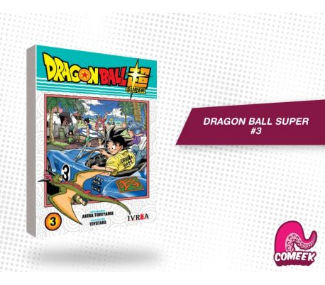 Dragon Ball Super número 3