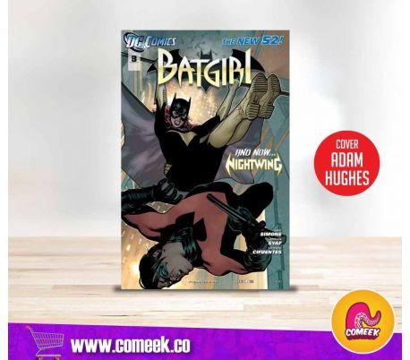 Batgirl número 3 portada Variante de Adam Hughes
