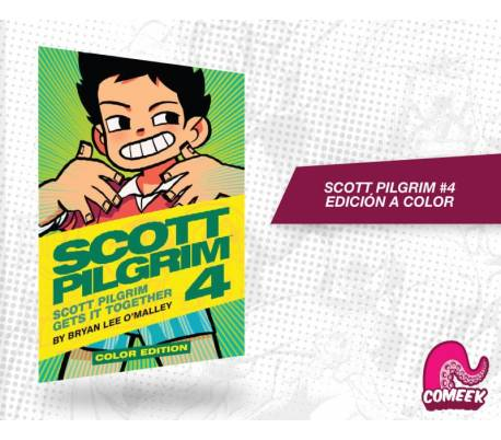 Scott pilgrim num. 4 edición a color