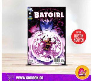 Batgirl número 18 portada de Dustin Nguyen