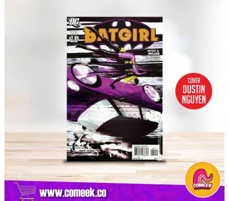 Batgirl número 20 portada de Dustin Nguyen