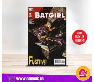 Batgirl número 16 portada de Dustin Nguyen