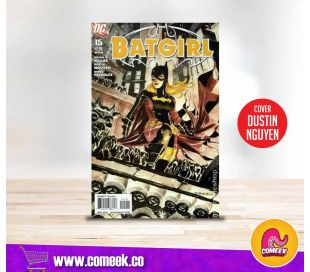Batgirl número 15 portada de Dustin Nguyen