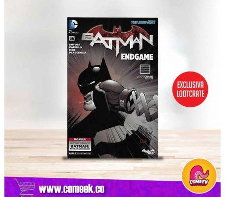 Batman número 36 End Game edición exclusiva Lootcrate