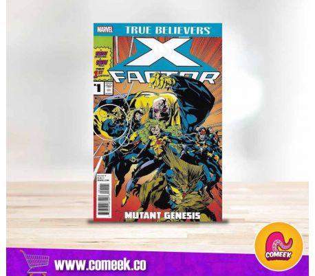 True Believers X-factor número 1 Mutant Genesis