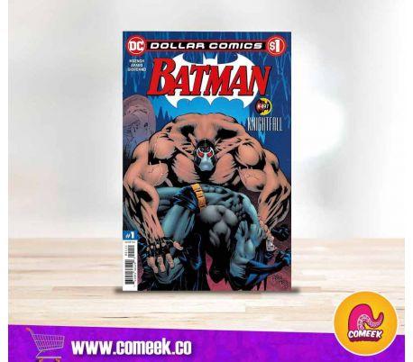 Dollar comic Batman número 497 Knightfall