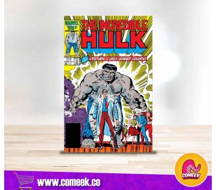 The Incredible Hulk número 324 Gray Hulk Returns True believers