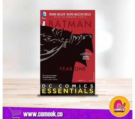 Batman Year One número 1 Dc comics Essentials