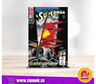 Death of Superman número 1 Dollar Comic