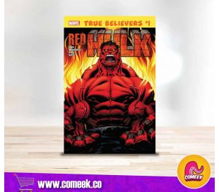 Red Hulk número 1 True Believers