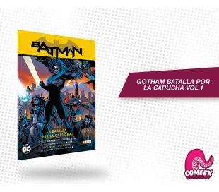 Batman Batalla por la Capucha Vol 1 de 2