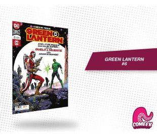Green Lantern número 6 nueva serie