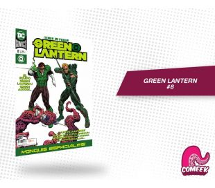 Green Lantern número 8 nueva serie
