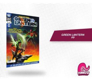 Green Lantern número 9 nueva serie