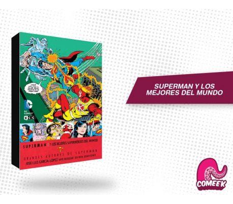 Superman y los Mejores Superhéroes del Mundo
