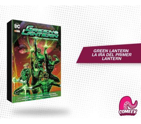 Green Lantern La Ira del Primer Lantern