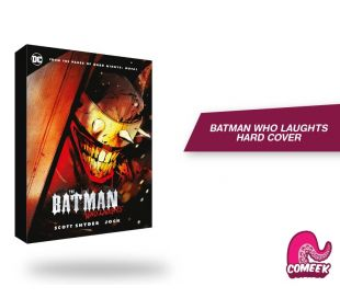 Batman Who Laugths Hard cover