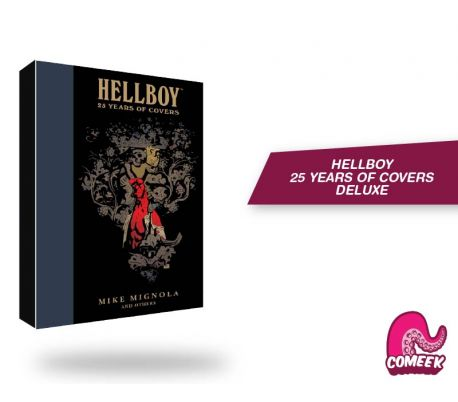 Helboy 25 Years of Covers Deluxe
