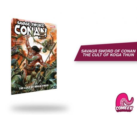 Savage Sword of Conan The Cult Of Koga