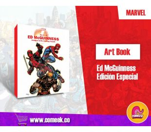 Marvel Monograph Art of Ed Mcguinness