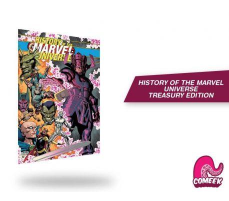 History of Marvel Universe Treasury Edition