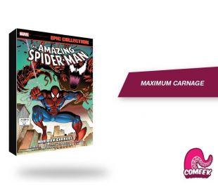 Spiderman Maximum Carnage TPB inglés