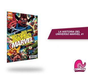 Historia del universo Marvel número 1