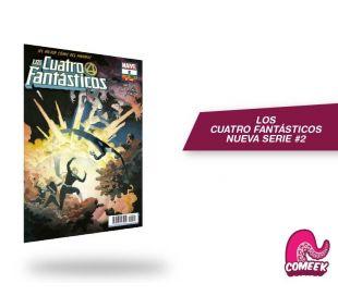 Los Cuatro Fantásticos número 2 nueva serie
