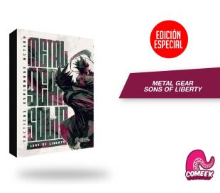 Metal Gear Sons Of Liberty Edición Especial