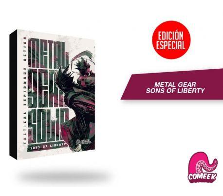 Metal Gear Sons Of Liberty Edición Especial