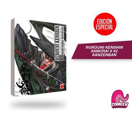 Manga Rurouni Kenshin Kanzenban número 2